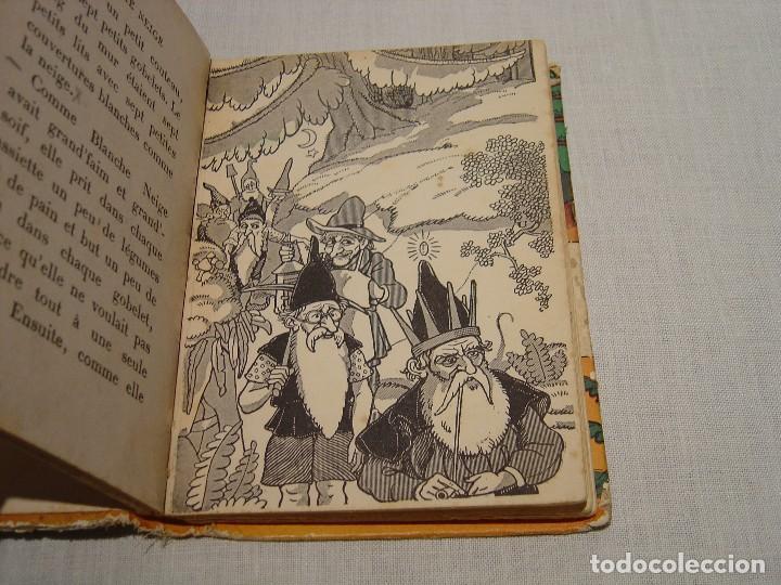 Libros antiguos: BLANCHE NEIGE - DOS ANTIGUOS CUENTOS EN FRANCÉS - BLANCANIEVES - Foto 13 - 87472664