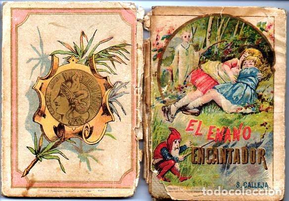 Libros antiguos: EL ENANO ENCANTADOR - RECREO CALLEJA, c. 1910 - Foto 2 - 87624652