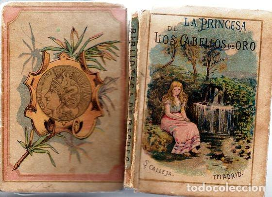 Libros antiguos: LA PRINCESA DE LOS CABELLOS DE ORO - RECREO CALLEJA, c. 1910 - Foto 2 - 87624676