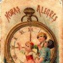 Libros antiguos: HORAS ALEGRES - RECREO CALLEJA, C. 1910. Lote 87624716