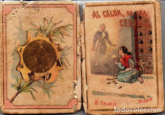Libros antiguos: AL CALOR DE UNA CERILLA - RECREO CALLEJA, c. 1910 - Foto 2 - 87624780