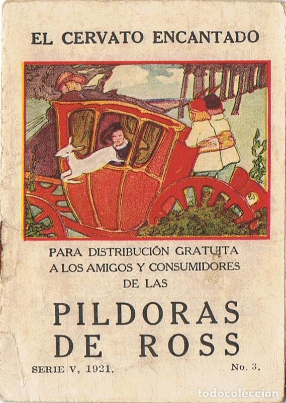 EL CERVATO ENCANTADO SERIE V Nº 3 AÑO 1921 (Libros Antiguos, Raros y Curiosos - Literatura Infantil y Juvenil - Cuentos)