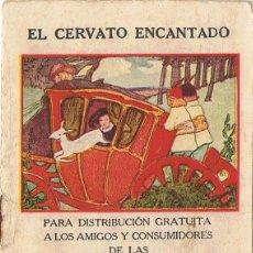 Libros antiguos: EL CERVATO ENCANTADO SERIE V Nº 3 AÑO 1921 . Lote 87702400