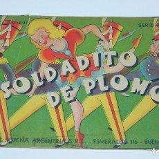 Libros antiguos: CUENTO SOLDADITO DE PLOMO, EDITORIAL SOPENA, COLECCION RUBI, SERIE B, N. 5, 1944 PRIMERA EDICION, PR. Lote 87749868