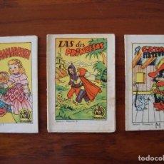 Libros antiguos: TESORO DE CUENTOS BRUGUERA. CHOCOLATES VICENTE ROSSELLÓ. MALLORCA.. Lote 88878408