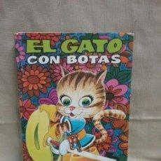 Libros antiguos: EL GATO CON BOTAS - EDITORIAL BRUGUERA - COLECCION BUENAS NOCHES - N° 5 - AÑO 1981 . Lote 89019644