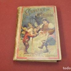 Alte Bücher - cuentos escoidos de grimm , edición ilustrada con 235 gravados , ed. calleja - ANO bagul - 89045472