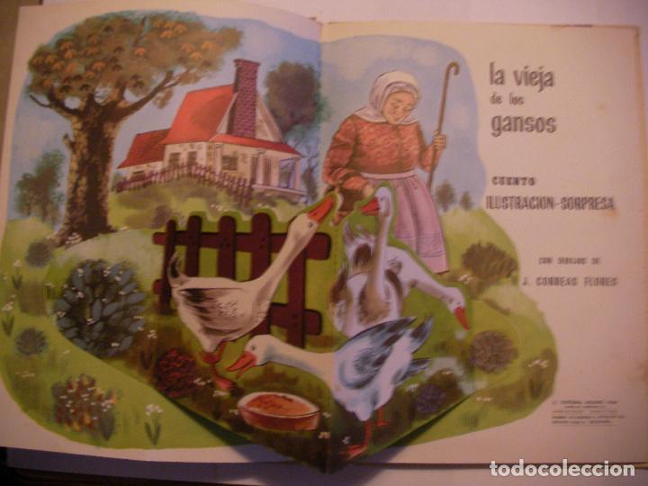 Libros antiguos: ANTIGUO LIBRO DE TEXTO - LA VIEJA DE LOS GANSOS - Foto 2 - 89254284