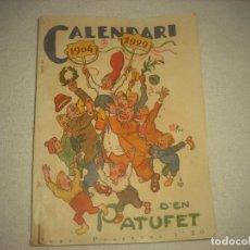 Libros antiguos: CALENDARI D'EN PATUFET 1929 .. Lote 89778872