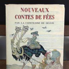 Libros antiguos: NOUVEAUX CONTES DE FÉES. COMTESSE DE SÉGUR. LIBRAIRE HACHETTE. 1932.. Lote 89835896