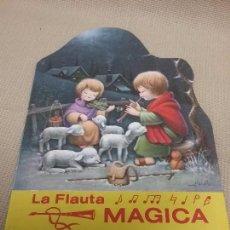 Libros antiguos: CUENTO TROQUELADO LA FLAUTA MÁGICA - SERIE FELIZ - PRIMERA EDICIÓN AÑO 1978. Lote 148908021