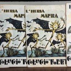 Libros antiguos: CONTES COL-LECCIÓ FOLLET. 4 EJEMPLARES. EDITORIAL POLIGLOTA. 1933.. Lote 89953816