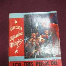 Libros antiguos: LOS TRES PELOS DEL DIABLO. HNOS. GRIMM.. COL. ALFOMBRA MAGICA. Nº 11. EDITORIAL MOLINO 1955. Lote 90415809