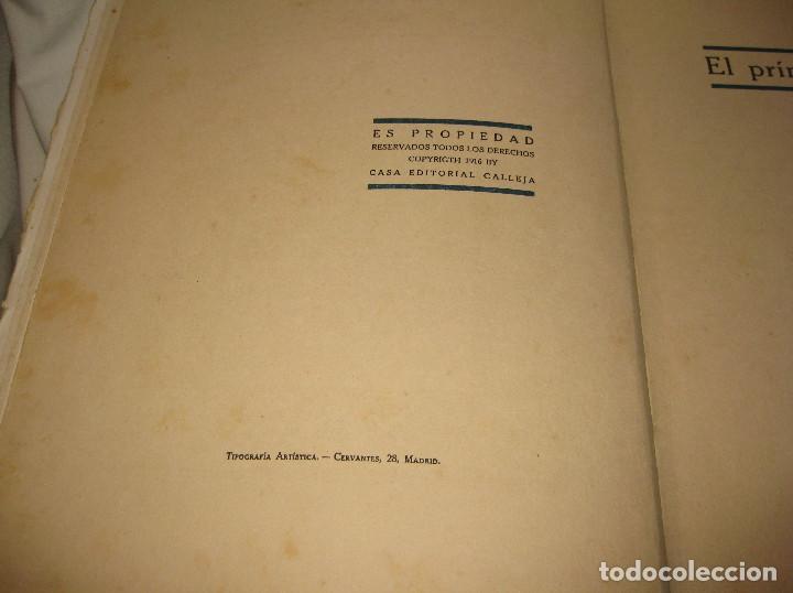 Libros antiguos: EL PRINCIPE Y EL LEON CUENTOS DE CALLEJA. DEL AÑO 1916 - Foto 3 - 90466299