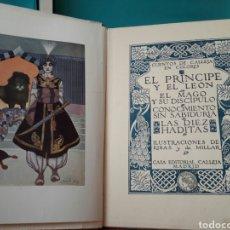 Libros antiguos: CUENTOS DE CALLEJA EL PRÍNCIPE Y EL LEON 1916. Lote 90468670