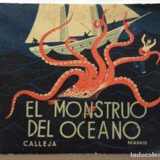 Libros antiguos: CUENTO.MIS CUENTOS FAVORITOS.TOMO 8.EL MONSTRUO DEL OCÉANO.SATURNINO CALLEJA. MADRID.. Lote 90597375