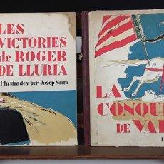 Libros antiguos: EDICIONS DE LA LLIBRERIA CATALONIA. 2 EJEMPLARES. VARIOS AUTORES. S/F.. Lote 90980390