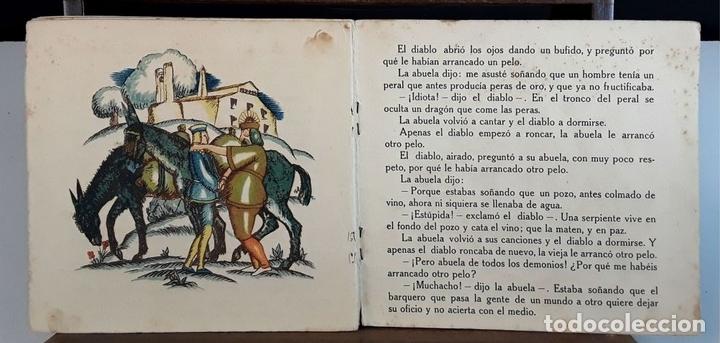 Libros antiguos: NOCHES DE INVIERNO. Nº 5. LOS TRES PETOS DEL DIABLO. J. CARNER. EDITORIAL MUNTAÑOLA. 1920. - Foto 3 - 154898070