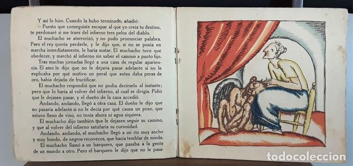 Libros antiguos: NOCHES DE INVIERNO. Nº 5. LOS TRES PETOS DEL DIABLO. J. CARNER. EDITORIAL MUNTAÑOLA. 1920. - Foto 4 - 154898070
