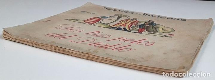 Libros antiguos: NOCHES DE INVIERNO. Nº 5. LOS TRES PETOS DEL DIABLO. J. CARNER. EDITORIAL MUNTAÑOLA. 1920. - Foto 6 - 154898070