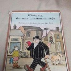 Libros antiguos: HISTORIA DE UNA MANZANA ROJA - EDITORIAL MIÑON AÑO 1975. Lote 92150675