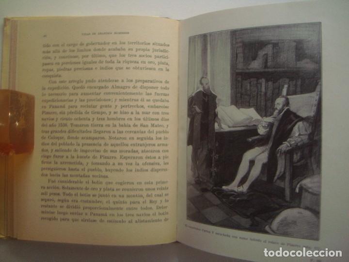 Libros antiguos: LIBRERIA GHOTICA. PIZARRO. 1940. VIDAS DE GRANDES HOMBRES. OBRA ILUSTRADA. - Foto 2 - 92204800