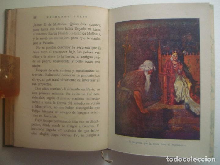 Libros antiguos: LIBRERIA GHOTICA. RAIMUNDO LULIO. ED. ARALUCE 1941. ILUSTRADO. PAGINAS BRILLANTES - Foto 2 - 92267130
