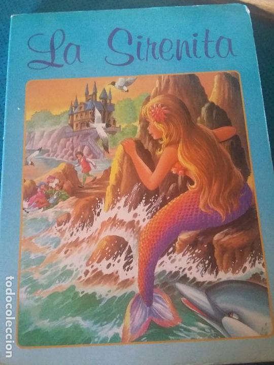 ANTIGUO LIBRO DE LA SIRENITA EN CARTÓN (Libros Antiguos, Raros y Curiosos - Literatura Infantil y Juvenil - Cuentos)