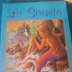 Libros antiguos: ANTIGUO LIBRO DE LA SIRENITA EN CARTÓN. Lote 92758870