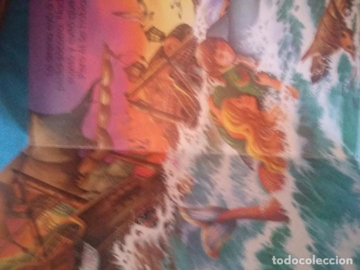 Libros antiguos: Antiguo libro de la Sirenita en cartón - Foto 2 - 92758870