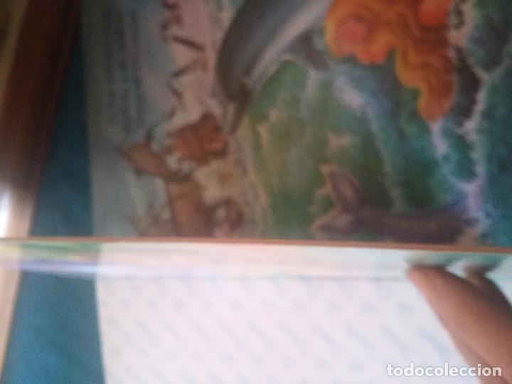 Libros antiguos: Antiguo libro de la Sirenita en cartón - Foto 3 - 92758870