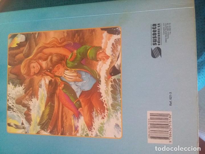 Libros antiguos: Antiguo libro de la Sirenita en cartón - Foto 4 - 92758870