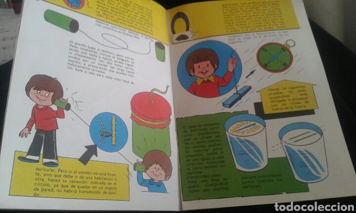 Libros antiguos: Los grandes hombres fueron también grandes niños. Serie didáctica: El pequeño ingeniero núm 2 - Foto 3 - 92811275