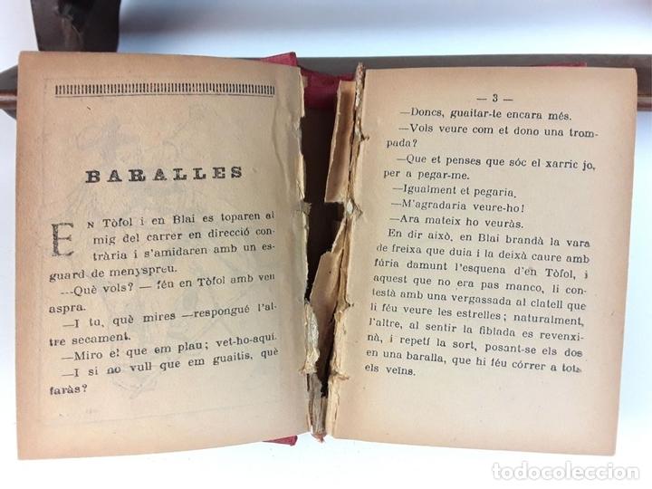 Libros antiguos: COL-LECCIÓ DE CONTES EN PATUFET. 2 TOMOS. JOSEP Mª FOLCH I TORRES. VARIAS EDITORIALES. - Foto 3 - 93340990