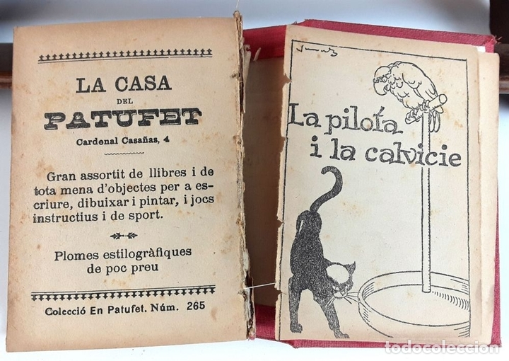 Libros antiguos: COL-LECCIÓ DE CONTES EN PATUFET. 2 TOMOS. JOSEP Mª FOLCH I TORRES. VARIAS EDITORIALES. - Foto 6 - 93340990