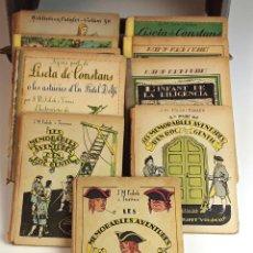 Libros antiguos: BIBLIOTECA PATUFET. 11 TOMOS. J. M. FOLCH I TORRES. EDITOR JOSEP BAGUÑÁ. 1922/1925.. Lote 93590560