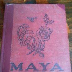 Libros antiguos: MAYA LA ABEJA Y SUS AVENTURAS. WALDEMAR BONSELS. EDITORIAL JUVENTUD, 1928. TAPA DURA. 191 PAGINAS. 4. Lote 93999615