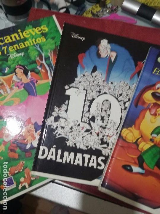 LOTE DE LIBROS DISNEY (Libros Antiguos, Raros y Curiosos - Literatura Infantil y Juvenil - Cuentos)