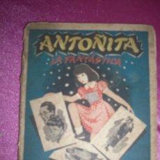 Libros antiguos: ANTOÑITA LA FANTÁSTICA. POR BORITA CASAS. DIBUJOS ZARAQUETA. AÑOS 50. Lote 94942811