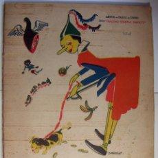 Libros antiguos: PINOCHO EN JAUJA EDITORIAL SATURNINO CALLEJA - DIBUJOS DE BARTOLOZZI - AÑO 1935. Lote 95013527
