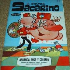 Libros antiguos: EL BOTONES SACARINO - BRUGUERA 1972- DIFICIL- ORIGINAL MUY BONITO E IIMPECABLE. Lote 95425875