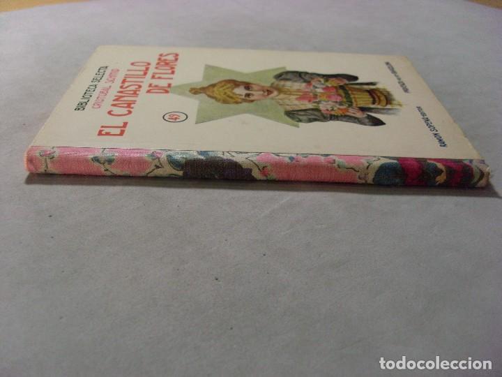 Libros antiguos: EL CANASTILLO DE FLORES/ Cristobal Schmid / Biblioteca Selecta 1934 - Foto 3 - 95644419