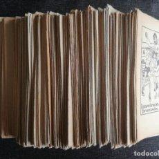 Libros antiguos: 220 CUENTOS EN PATUFET. LOTE CON NÚMEROS DETALLADOS, MUCHOS CONSECUTIVOS - LOT DE CONTES COL·LECCIÓ. Lote 95708503