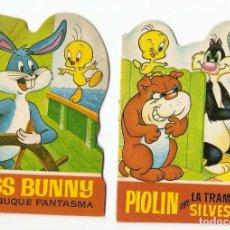 Libros antiguos: PIOLIN Y BUGSS B-2 CUENTOS TROQUELADOS Nº 7 Y 8 -BRUGUERA 1964 ORIGINAL 10 X 14 PERFECTOS. Lote 95809763