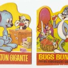 Libros antiguos: EL RATON GIGANT Y BUGSS B-2 CUENTOS TROQUELADOS Nº 13 Y 14 -BRUGUERA 1964 ORIGINAL 10 X 14 PERFECTOS. Lote 95812803