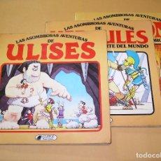 Libros antiguos: LAS ASOMBROSAS AVENTURAS DE ULISES HERCULES JASON, COMPLETA, 1982 CLIPER PLAZA Y JANES ERCOM. Lote 95896579