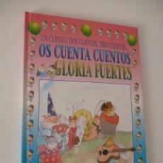Libros antiguos: UN CUENTO, DOS CUENTOS, TRES CUENTOS... OS CUENTA CUENTOS GLORIA FUERTES. SUSAETA.. Lote 97361019