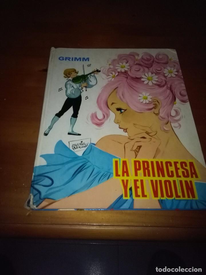 LA PRINCESA YEL VIOLIN.GRIMM. EST16B3 (Libros Antiguos, Raros y Curiosos - Literatura Infantil y Juvenil - Cuentos)