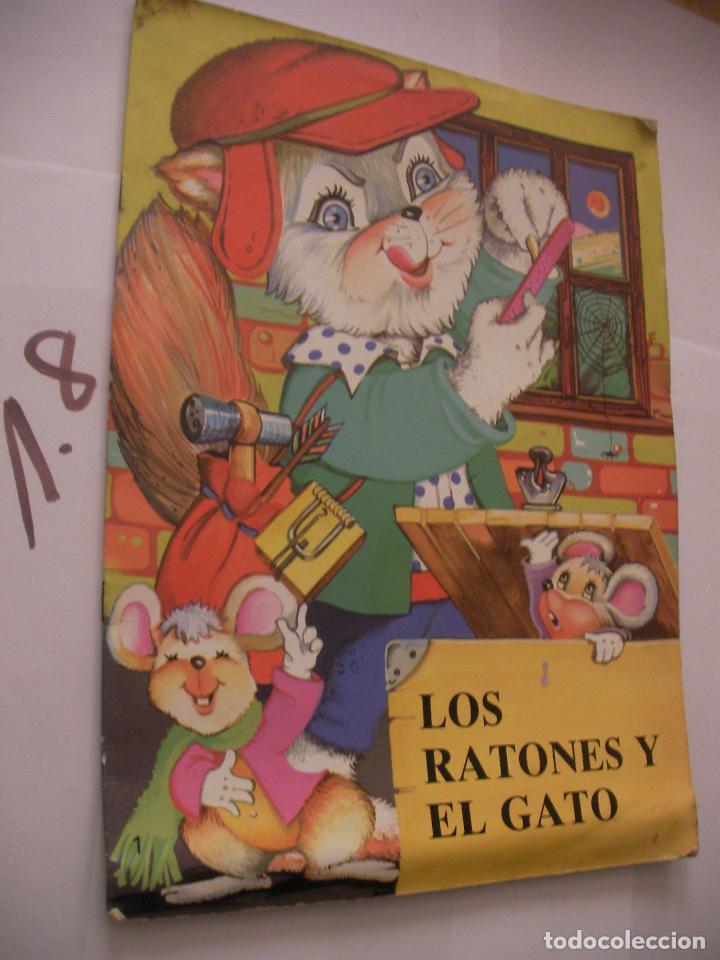 CUENTO INFANTIL - LOS RATONES Y EL GATO - ENVIO INCLUIDO A ESPAÑA (Libros Antiguos, Raros y Curiosos - Literatura Infantil y Juvenil - Cuentos)