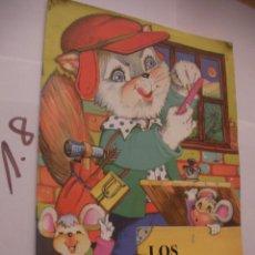 Libros antiguos: CUENTO INFANTIL - LOS RATONES Y EL GATO - ENVIO INCLUIDO A ESPAÑA. Lote 98003187